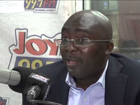 Bawumia speaks on Joy FM's Super morning Show