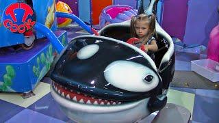 Развлекательный Центр для Детей Катаемся на Машинках | Indoor Playground for Kids