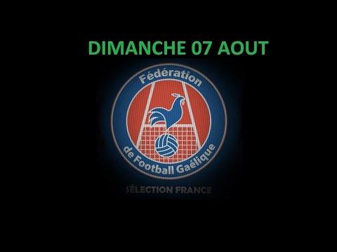 France GAA - World Gaelic Games 07.08.16