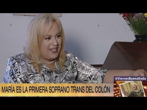 #ViernesBuenaOnda:  Conocé A María, La Primera Soprano Trans Del Teatro Colón