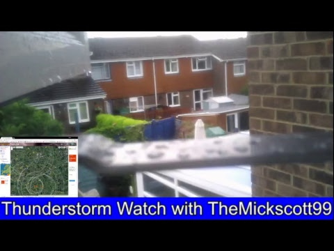 Live Thunderstorm Watch in Alton, Hampshire - 18/07/17