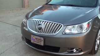 HD VIDEO 2012 BUICK LACROSSE PREMIUM 2 MAGNA STEEL METALLIC USED FOR SALE SEE WWW SUNSETMOTORS COM