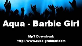Aqua Barbie Girl *HQ + Lyrics