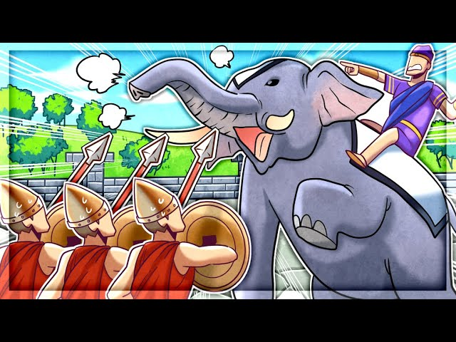 300 SPARTANS Vs Elephant Army in Total War: Rome Remastered