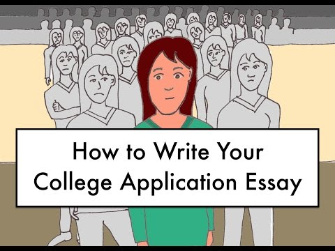 Видео Writing an admission essay