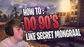 Comment faire: Ne Double 90s comme Secret Mongraal! Rotation des années 90 (Fortnite Battle Royale)