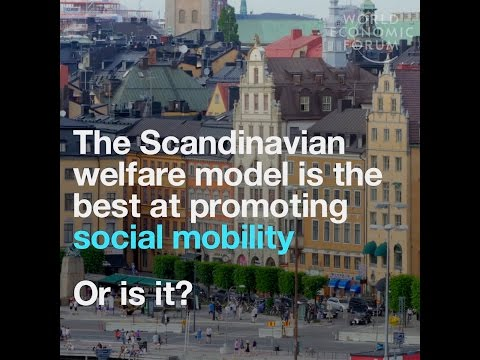 The Scandinavian welfare model is the best at promoting social mobility