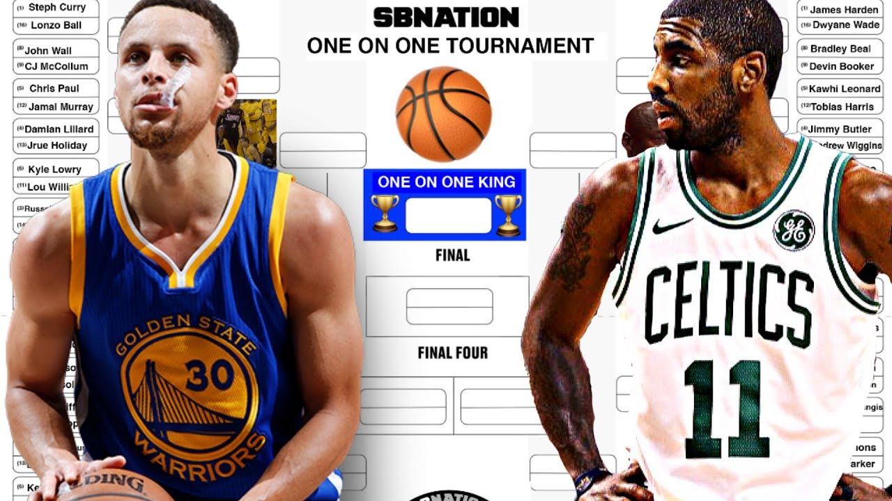 The Greatest Nba Player One Vs One Tournament Bracket
