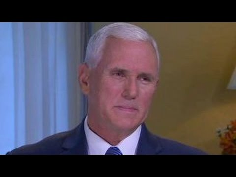 Mike Pence talks role in campaign, GOP defectors