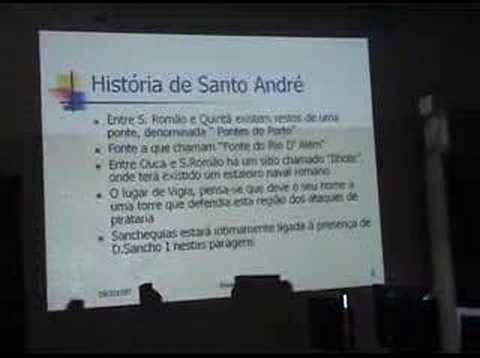 apresentação sobre santo andré de vagos