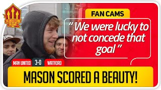 GREENWOOD GOAL CLASS! Manchester United 3-0 Watford Fancam