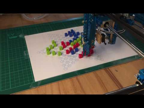 Play Chinese Checkers by Makeblock XY Plotter