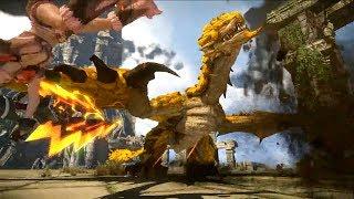Monster Hunter Online - S Challenge Gold Rathian Greatsword Gameplay