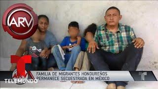 Maleantes secuestran a una familia hondureña y envían fotos aterradoras | Al Rojo Vivo | Telemundo