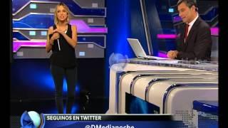 Saludos en Diario de Medianoche -Telefe Noticias