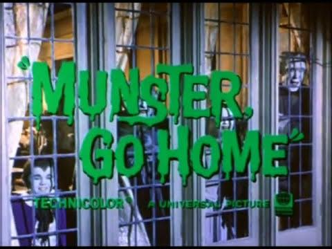Munster, Go Home! full theatrical trailer (1966)
