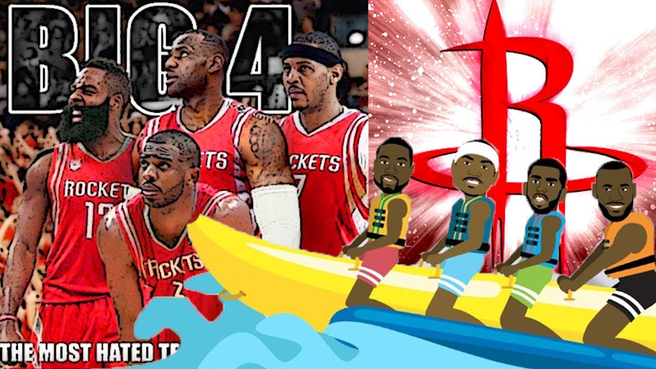 eb9d8d7d37d How The Banana Boat Squad could form on The Houston Rockets! - YouTube