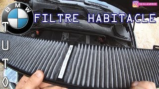 TUTO | FILTRE HABITACLE, remplacement, BMW E90 320D #veilleurmod #voiture #bmw