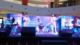 #05 SPANDA Concert at V.R.Chennai Mall | Sarvesh Karthick