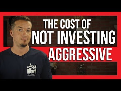 📢 The cost of not investing aggressive  The Dough 💲how