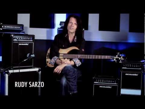 NEW Acoustic Compact Performance Bass Amps- Demo w Rudy Sarzo B15, B30 & 260 MKII