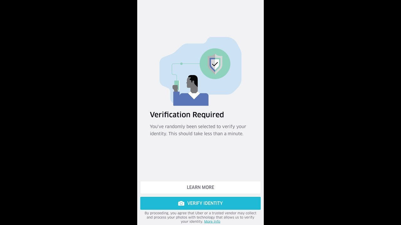 Uber- ✅App is requesting Photo Verification BEFORE you can go ONLINE❓✅
