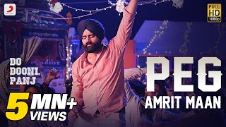Peg - Amrit Maan | Jay K | Badshah | Do Dooni Panj | Releasing On 11 Jan