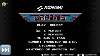 NES Online Retro Play - Gradius SPED UP - Cursing Chipmunk HILARIOUS