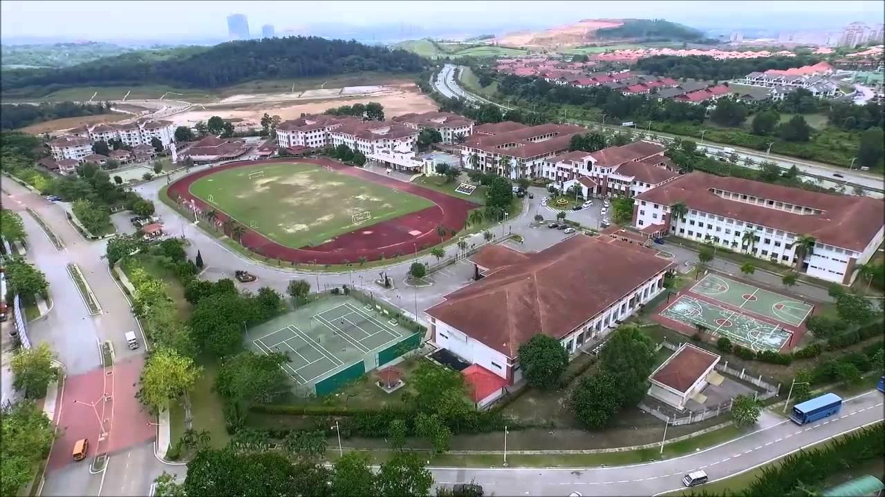 Sekolah Sultan Alam Shah Putrajaya Bird S Drone S Eye View 720p Youtube