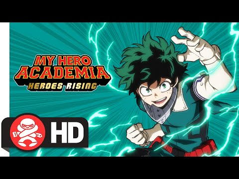 My Hero Academia The Movie Heroes Rising Dub Trailer Youtube