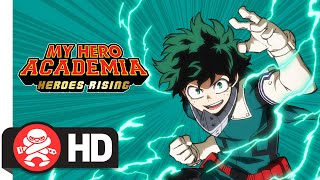 My hero academia: heroes rising will be coming to cinemas across australia and new zealand from march 12, 2020, in japanese with english subtitles englis...