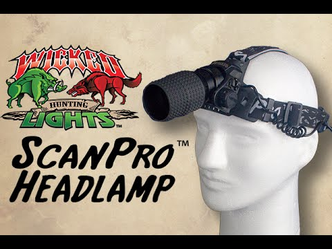ScanPro Night Hunting Headlamp from Wicked Hunting Lights™