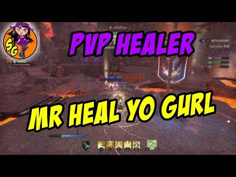 ESO: PvP Healer Build - Most OP and Helpful healer build in PvP [Horns of the reach]