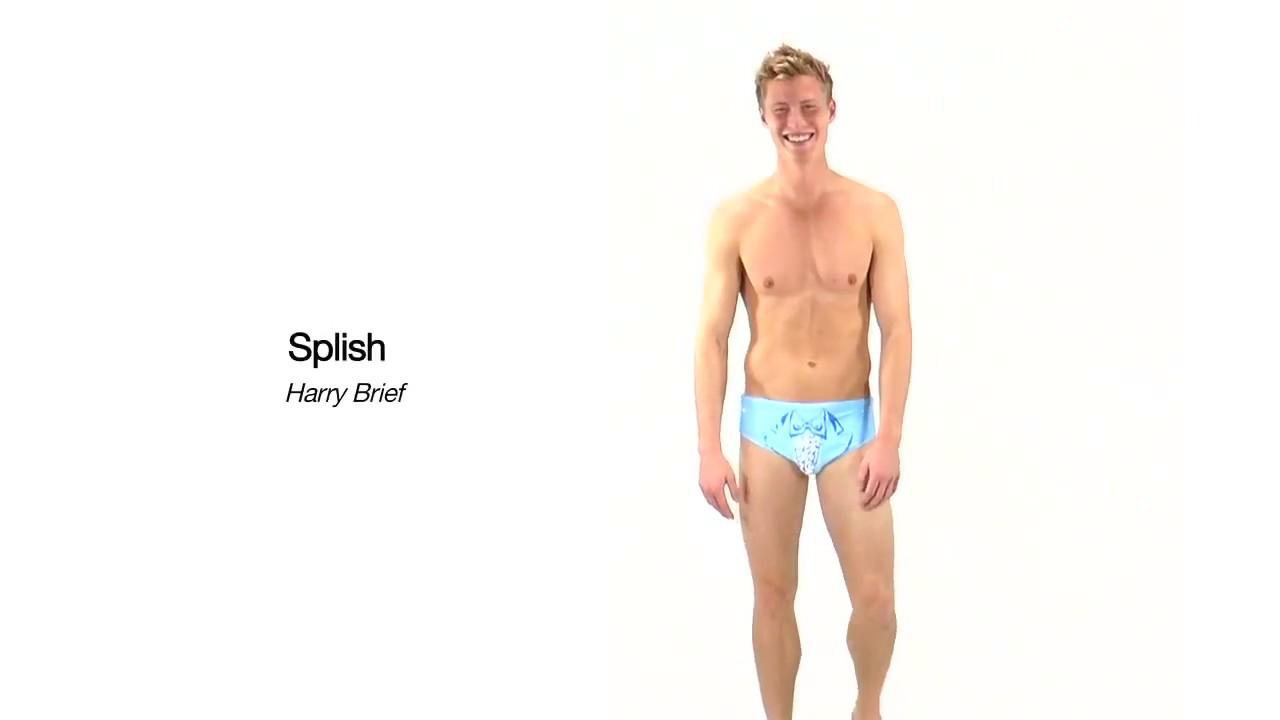 d8d85c5e9e Splish Harry Brief Swimsuit | SwimOutlet.com - YouTube
