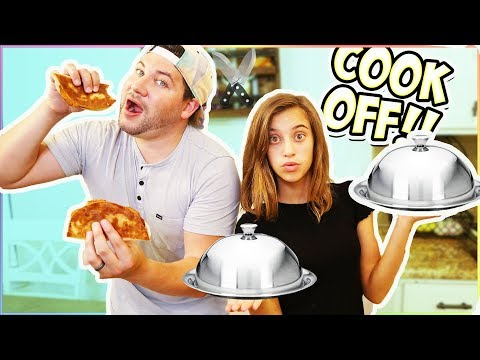 $60 MYSTERY BOX COOKING CHALLENGE!! DAD VS. DAUGHTER!