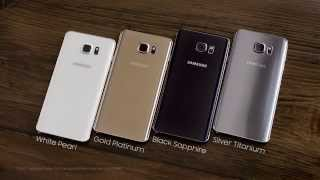 samsung galaxy note 5 gold silver black and white official video hd