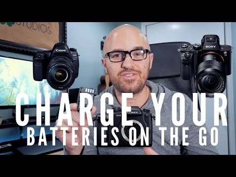 The Ultimate Battery Charging Solution For Your Camera - Charge Your Batteries ANYWHERE