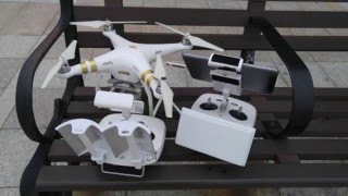 Phantom 3/4 unmodified antenna vs  Parabolic Antenna Booster/Reflector vs DBS antenna range test