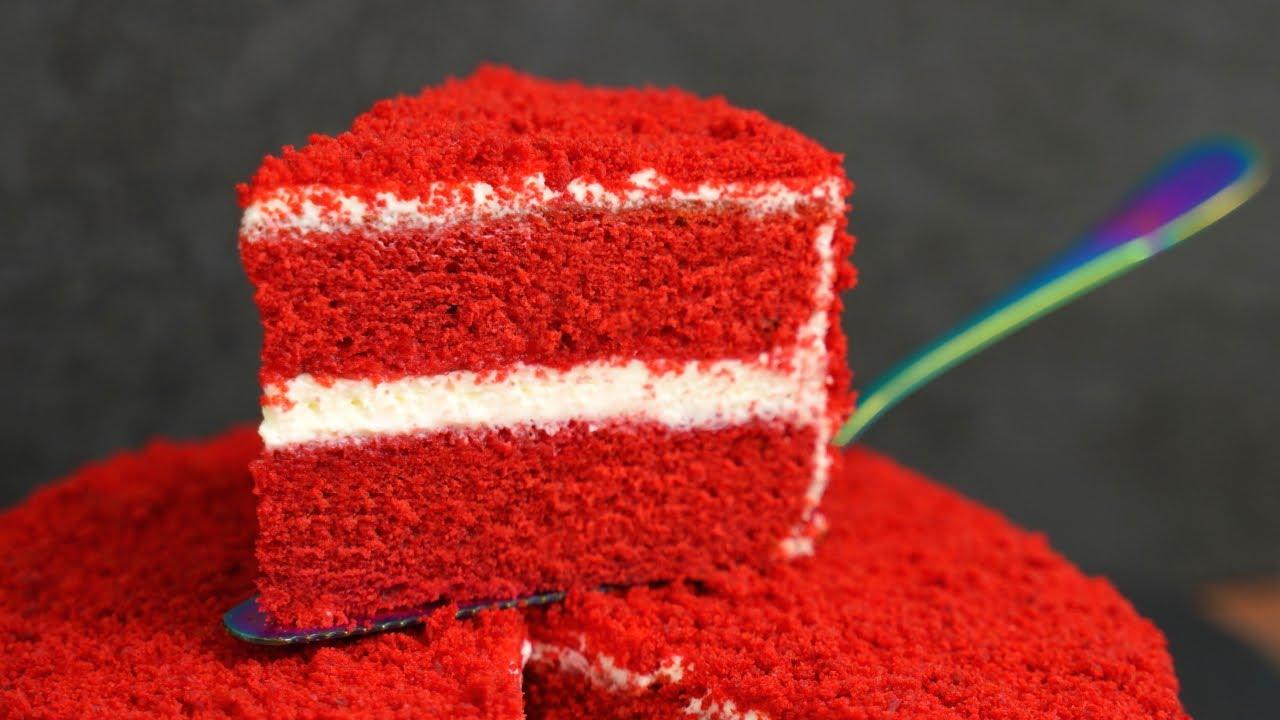 Этот ТОРТ уже давно ПОКОРИЛ весь МИР вкусом и внешним видом! Торт Красный Бархат Red Velvet Cake