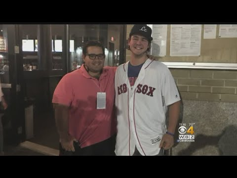 Teen, Photographer Meet After Painful First Pitch At Fenway Park