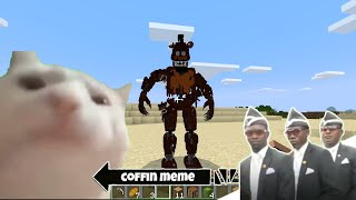 Return of Five Nights at Freddy's in Minecraft - Coffin Meme
