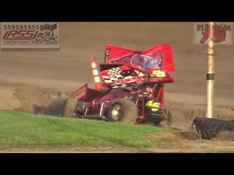 Belleville High Banks - Inaugural 305 Sprint Car Nationals - 8-4-18 - Heats 1-3