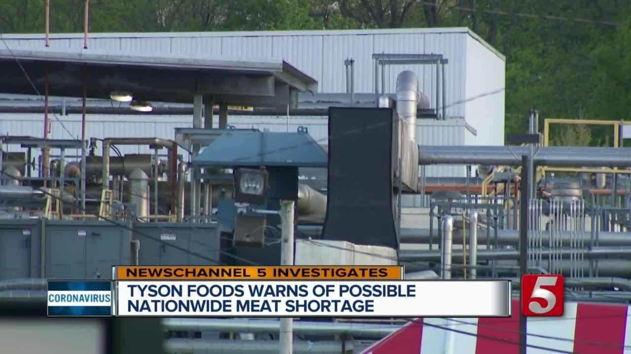 Tyson Foods Warns of Meat Shortage Following Coronavirus ...