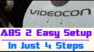 ABS 2 Setup | For Beginners | In 4 Steps | Very Easy | Free Channels | No Rental