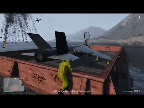 GTA 5 Online Hydra & Savage Best Choice for every Air Freight Cargo Mission