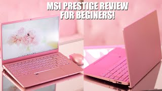 BEST LAPTOP FOR VIDEO EDITING ! Final Review on MSI Prestige 14 in Rose Pink