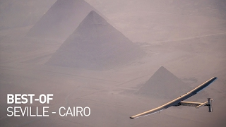 Solar Impulse - Best of Seville to Cairo in a Solar Airplane
