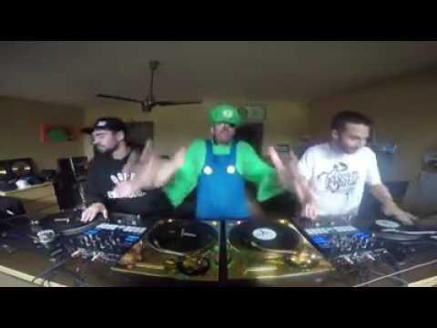 DJ FLY & DJ NETIK Drum and bass turntablism masters