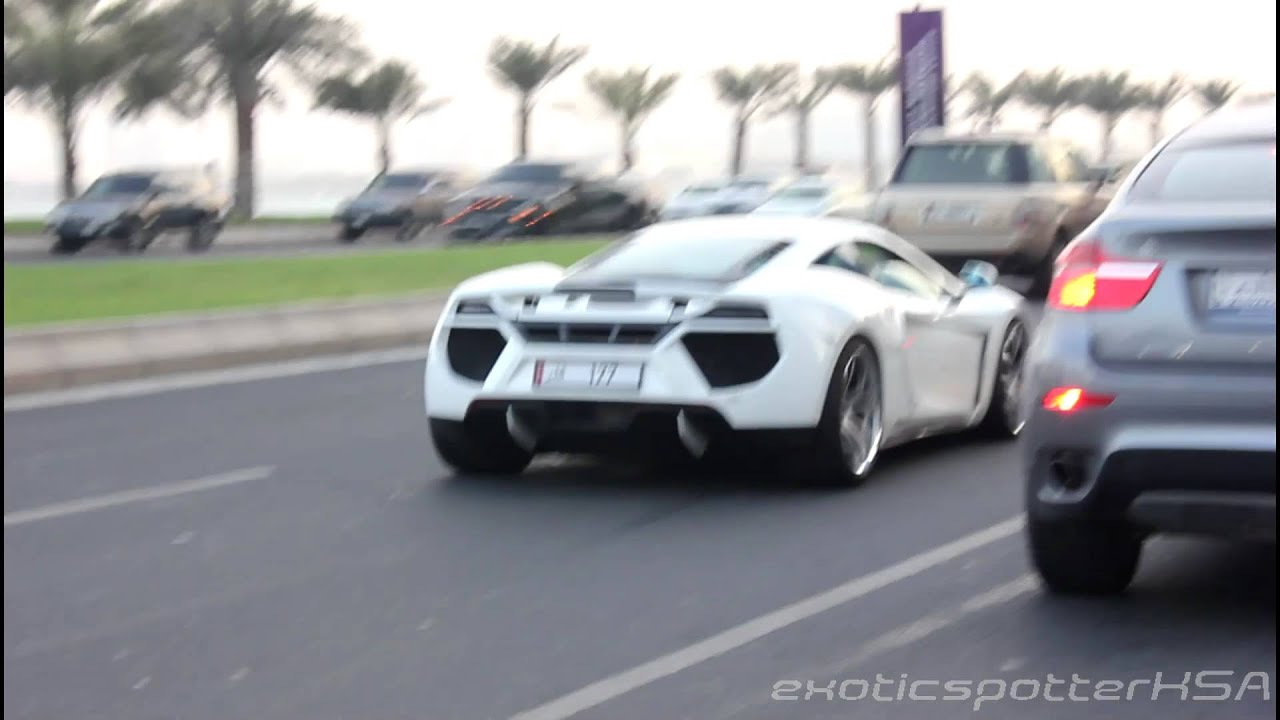 Rare Qatari Supercars Including Fab Design Sls Rev Hd