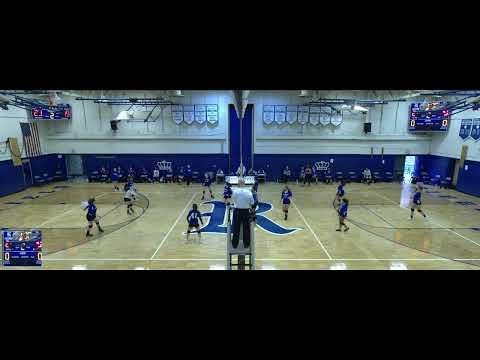 Ridgefield Memorial vs. Mary Help of Christians Academy Varsity Varsity Womens' Volleyball